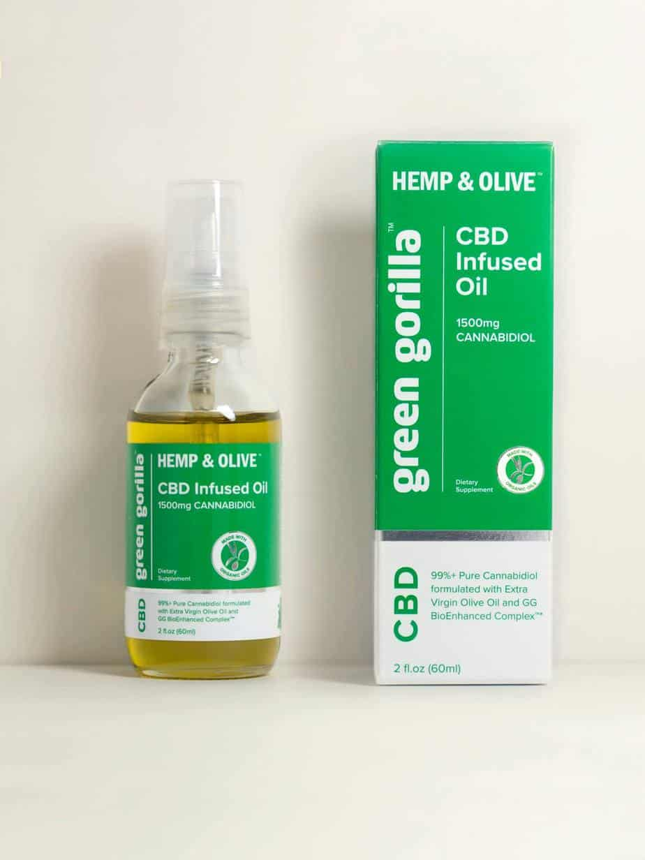 Green Gorilla Pure CBD Oil 1500 mg \u00bb Real Tested CBD \u00bb CBD ...