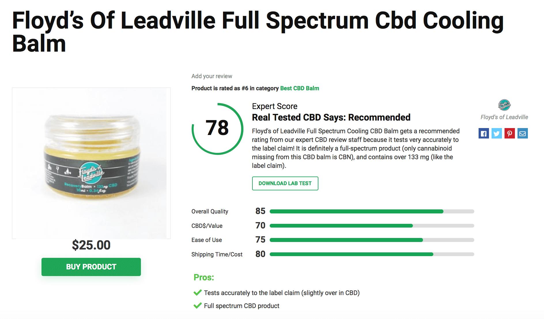Is Floyd's of Leadville CBD Legit? – A Real Tested CBD Brand Spotlight