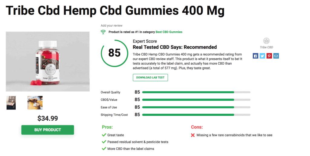 Tribe CBD Hemp Gummies