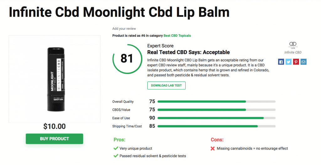 Is Infinite CBD Legit? – A Real Tested CBD Brand Spotlight