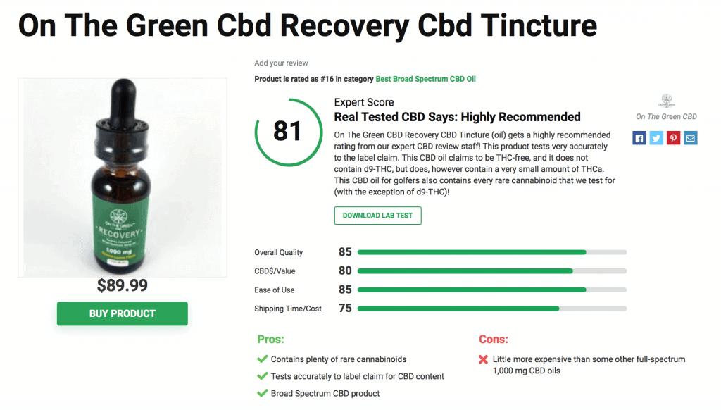 Is 'On The Green CBD' Legit? – A Real Tested CBD Brand Spotlight