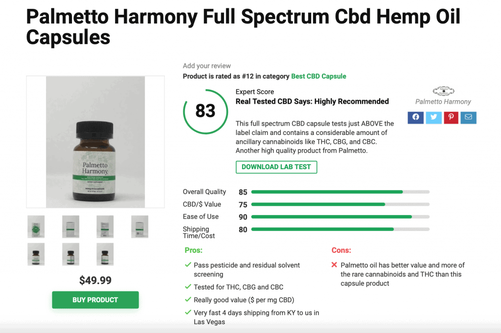 Is 'Palmetto Harmony' CBD Legit? – A Real Tested CBD Brand Spotlight Review