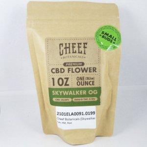 Cheef Botanicals Skywalker OG CBD Hemp Flower