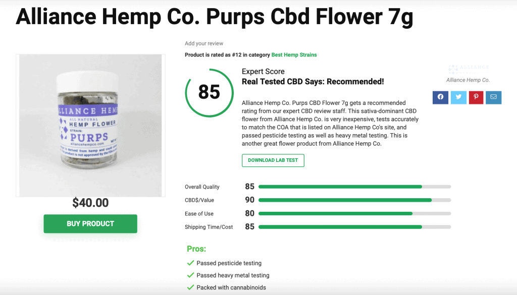 Is 'Alliance Hemp Co.' CBD Legit? – A Real Tested CBD Brand Spotlight Review