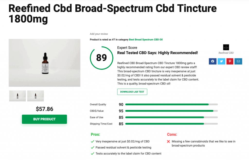 Is 'Reefined CBD' Legit? – A Real Tested CBD Brand Spotlight Review