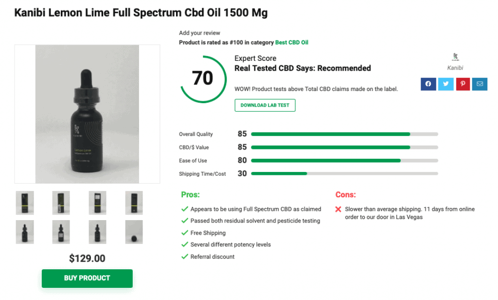 Is 'Kanibi' CBD Legit? – A Real Tested CBD Brand Spotlight Review