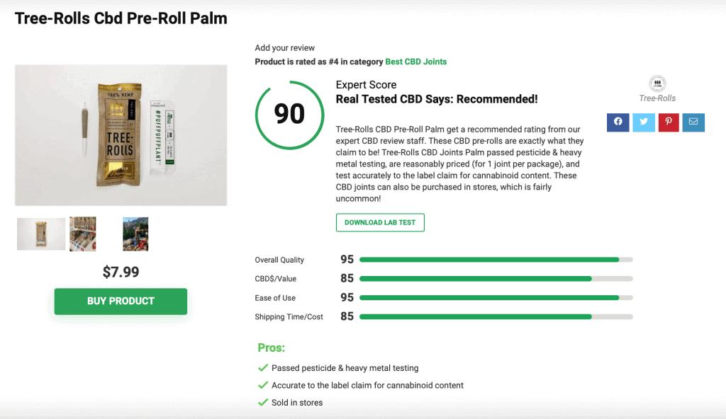 Is 'Tree Rolls CBD' Legit? – A Real Tested CBD Brand Spotlight Review
