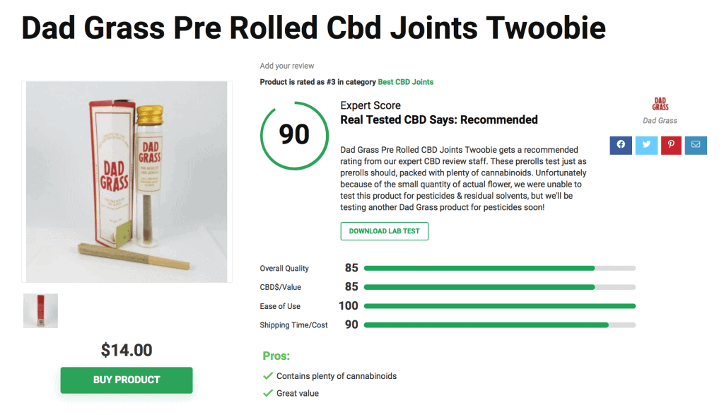 Top 6 CBD Pre-Rolled Joints