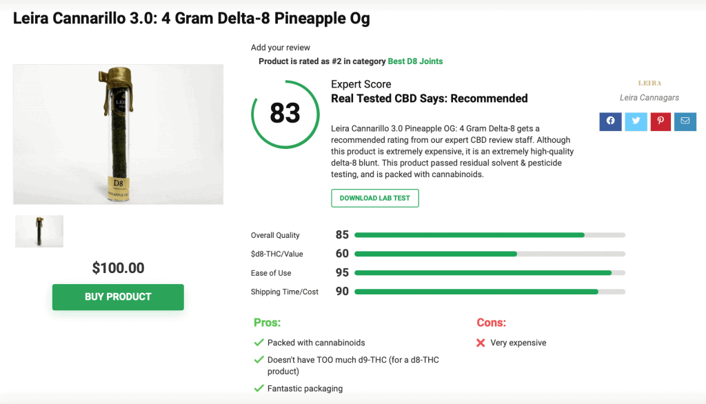 Are 'Leira Cannabis Cigars' Legit? – A Real Tested CBD Brand Spotlight Review