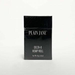 Plain Jane Delta-8 THC Hemp Cigarettes