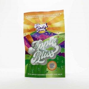 Happy Fruit Delta 8 Apple Bliss Gummies