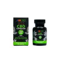 A88CBD CBD Capsules 750 mg