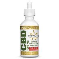 InspoLife Solutions Broad-Spectrum CBD Oil 1000mg