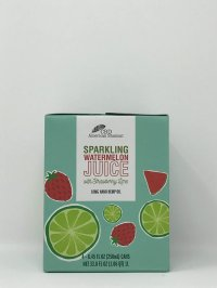CBD AMERICAN SHAMAN SPARKLING WATERMELON JUICE WITH STRAWBERRY LIME 10 MG NANO HEMP OIL