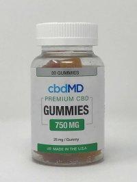 CBD MD PREMIUM CBD GUMMIES 750 MG