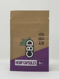 CBDFX HEMP CAPSULES 200 MG