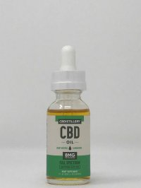 The CBDistillery Full Spectrum CBD Tincture – 250 mg – 30 ml