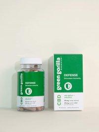 Green Gorilla CBD Capsules – Defense 300 mg