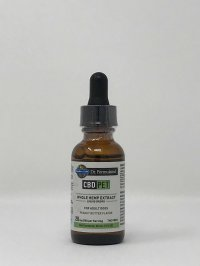 GARDEN OF LIFE CBD PET WHOLE HEMP EXTRACT LIQUID DROPS 20 MG