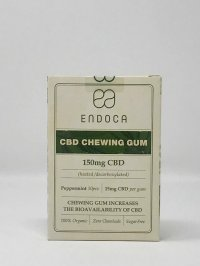 ENDOCA CBD CHEWING GUM 150 MG CBD
