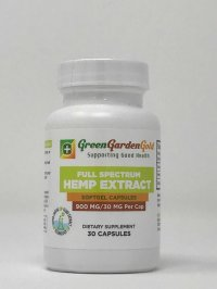 Green Garden Gold – CBD Oil Capsules