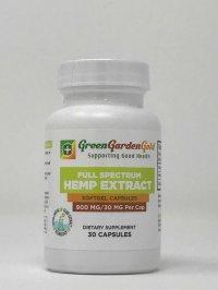 Green Garden Gold – CBD Oil Capsules