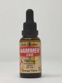 Hammer CBD 750 mg Broad Spectrum CBD Oil