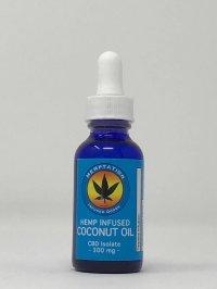 Hemptation Hemp Infused Coconut Oil CBD Isolate 300 mg