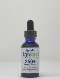 Highland Pharms 250+ Hemp Drops