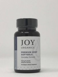 Joy Organics Premium Hemp Softgels