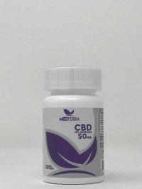 Medterra CBD Gel Capsules 50 mg
