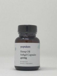 Populum Hemp Oil Softgel Capsules 450 mg