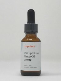 Populum Full Spectrum Hemp Oil 250 mg