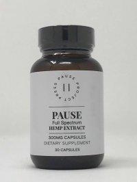 Pause Full Spectrum Hemp Extract Capsules