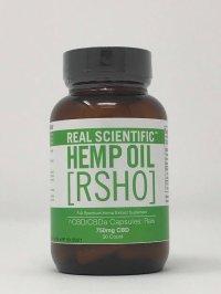 Real Scientific Hemp Oil – Green Label CBD Pill Capsules – 25 mg – 30 count