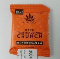 Vital Leaf Dark Toasted Quinoa Crunch CBD Edible 30 mg