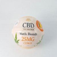 Nature's Aid CBD Bath Bomb Citrus