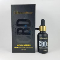 Nanocraft CBD Gold Series CBD Oil Drops 2000mg