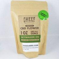 Cheef Botanicals Skywalker OG CBD Hemp Flower 1oz Bag