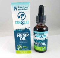 Functional Remedies Dog & Cat Whole Hemp Oil 200 mg