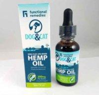Functional Remedies Dog & Cat Whole Hemp Oil 200 mg
