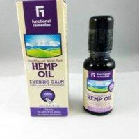 Functional Remedies Hemp Oil Evening Calm Body Oil
