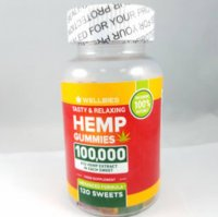 Wellbies (Amazon) Hemp Gummies 100,000 mg