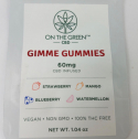 On The Green CBD Vegan Gummies 60 mg