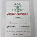 On The Green CBD Vegan Gummies 60 mg