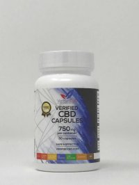 Verified CBD Capsules 750 mg